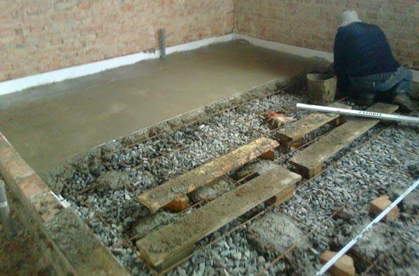 Черновой пол в деревянном доме своими руками 75